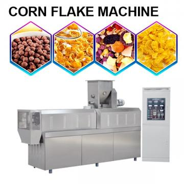 Multi-Function Corn Flake Machine With Grains Powder As Raw Materials