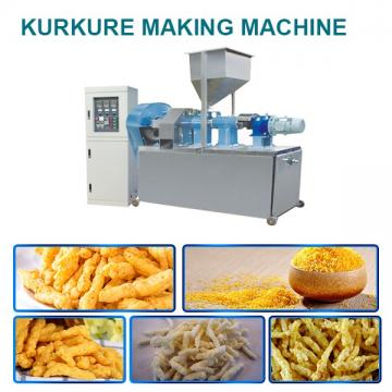 Ce Certification 85kw Kurkure Making Machine With Corn Starch As As Raw Materials