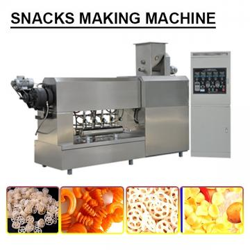 Iso9000 Compliant Save Labor Snack Maker Machine,Plc Control