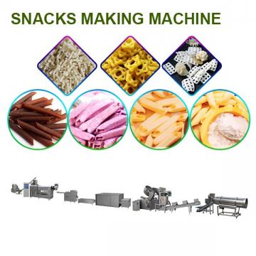 Energy Saving Snacks Making Machine With Long Service Life