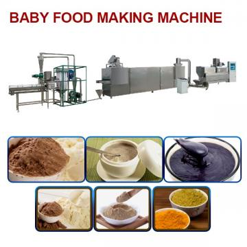 40-75kw No Pollution Baby Food Making Machine With Easy Operation