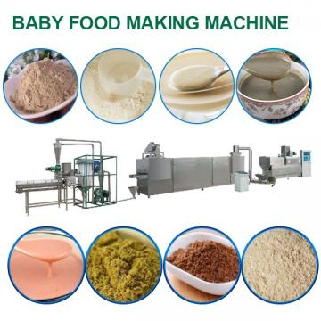 70kw Baby Food Making Machine With Frequency Speed Control System
