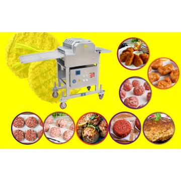 90kw Convenient Chicken Breading Machine Made Of Stainless Steel