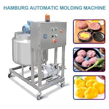 400-800kg/h Capacity Automatic Hamburger Forming Machine With Chicken As Raw Materials