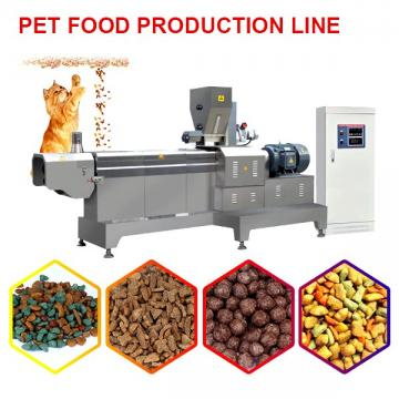 380v Customized Pet Food Production Line With 100kg/h Production Capacity