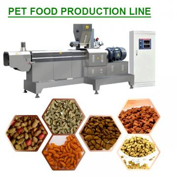 85kw Full Automatic Pet Food Production Line With Simple And Easily