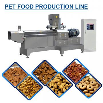 75kw Full Auto Pet Food Production Line Pet Food Extruder