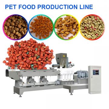 High Outputs 380v Pet Food Production Line With Easy Operation