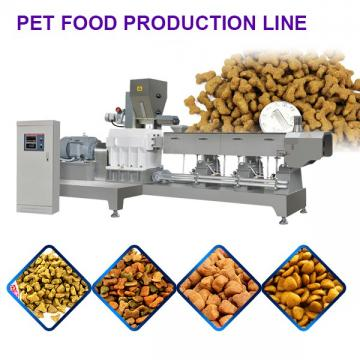 Stainless Steel Pet Food Production Line With High Automation