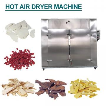 Automated Systems Seafood Hot Air Dryer Machine With Low Consumption