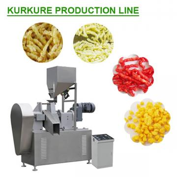 Ce Certification Multifunction Kurkure Making Machine With Corn Starch As Raw Materials