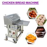 Safe Stainless Steel Chicken Breading Machine With Evenly Heated