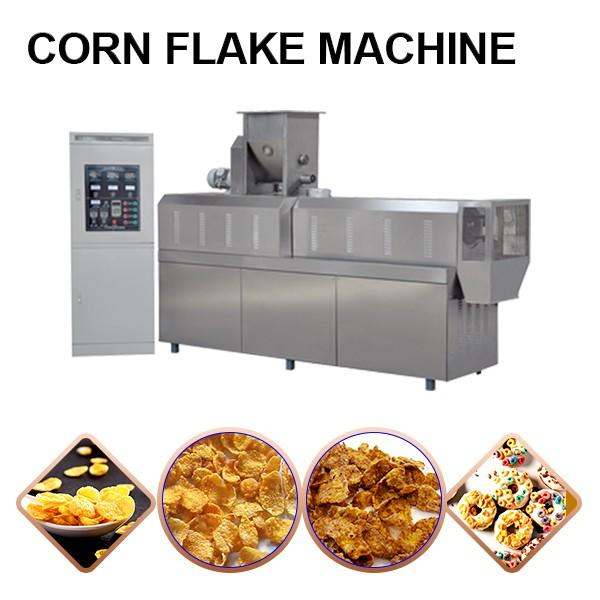 100-500kg/h Output Corn Flakes Making Machine With High Thermal Effciency #1 image