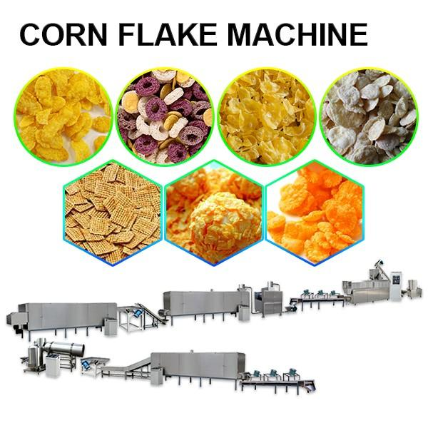 380v Iso Certification Corn Flake Machine,With More Evenly Heated #1 image