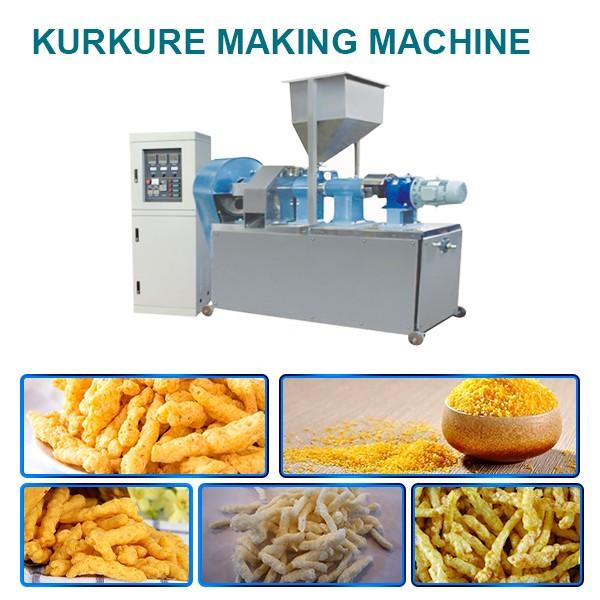 Ce Certification 85kw Kurkure Making Machine With Corn Starch As As Raw Materials #1 image
