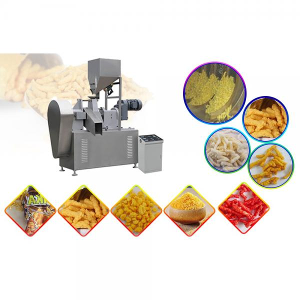 Low Consumption 65kw No Pollution Kurkure Making Machine For Snack Food #1 image