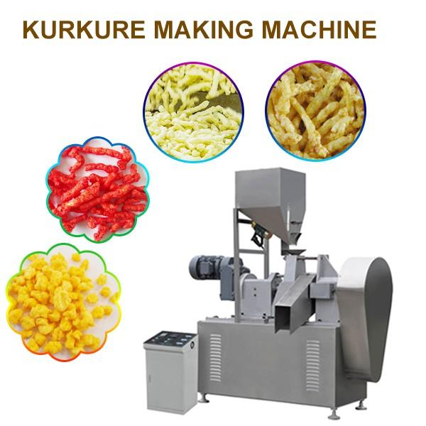 Stainless Steel Food Grade High Output Kurkure Making Machine , Low Noise #1 image