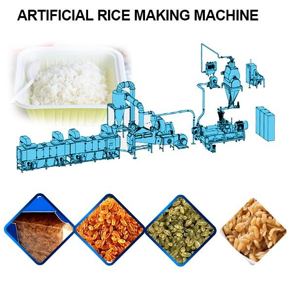 Low Energy Artificial Rice Making Machine With 100kg/h Capacity #1 image