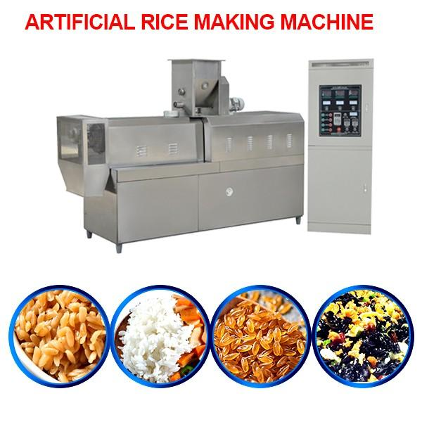 85kw High Automatic Artificial Rice Making Machine Rice Extruder Machine #1 image