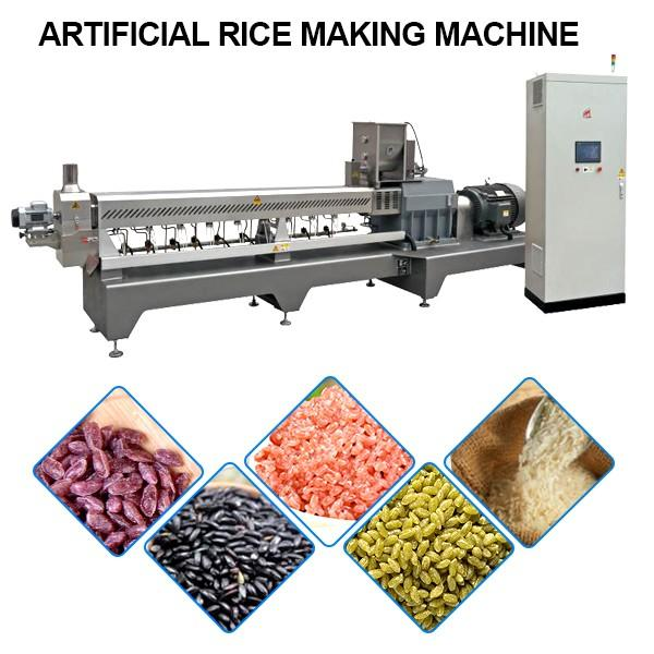 Large Output Artificial Rice Making Machine With Forced Cooling #1 image
