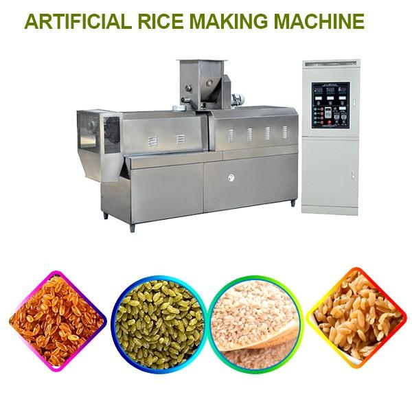 Automatically Artificial Rice Making Machine With High Efficiency Fuel Saving #1 image