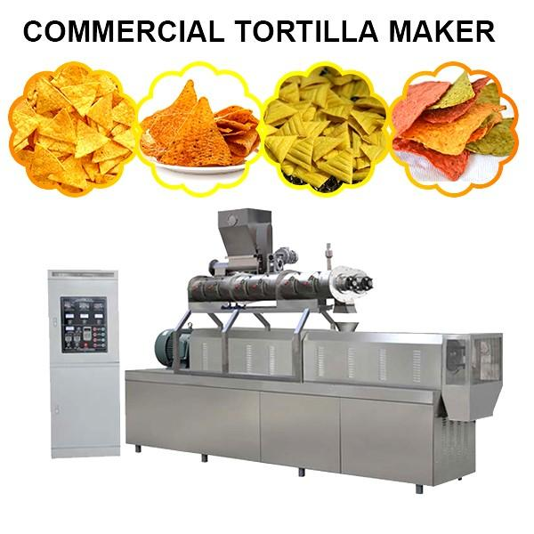 Mutifunction Commercial Tortilla Maker Commercial Tortilla Press Machine,Novel In Shape #1 image