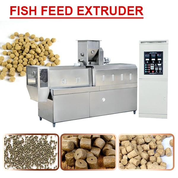 Stainless Steel 304 Digestible Fish Feed Extruder Machine,Self-Cleaning #1 image