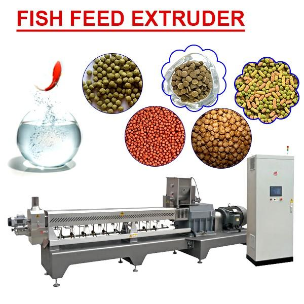 22kw Ce Certificate Fish Feed Extruder Machine With Easy Maintenance #1 image