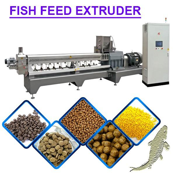 380v Easy Operation Fish Feed Extruder Machine With 500kg/Hour Capacities #1 image