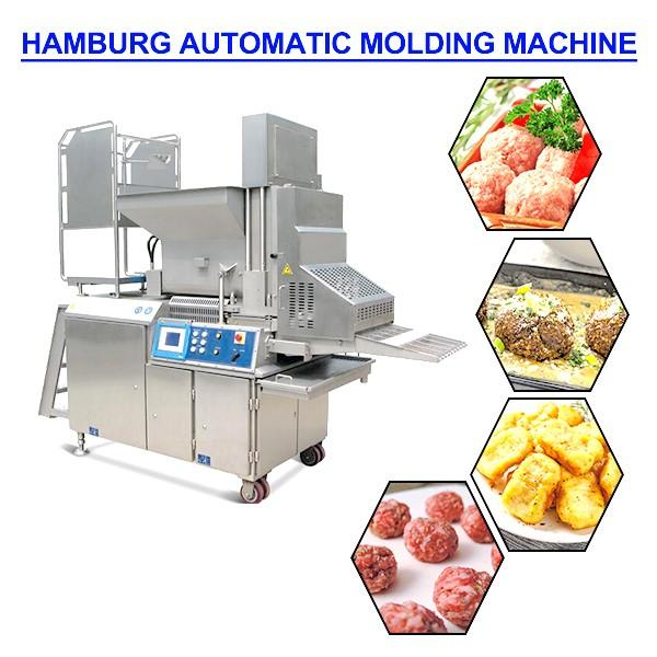 Industrial Stainless Steel Automatic Hamburger Forming Machine With 500kg/h Capacity #1 image