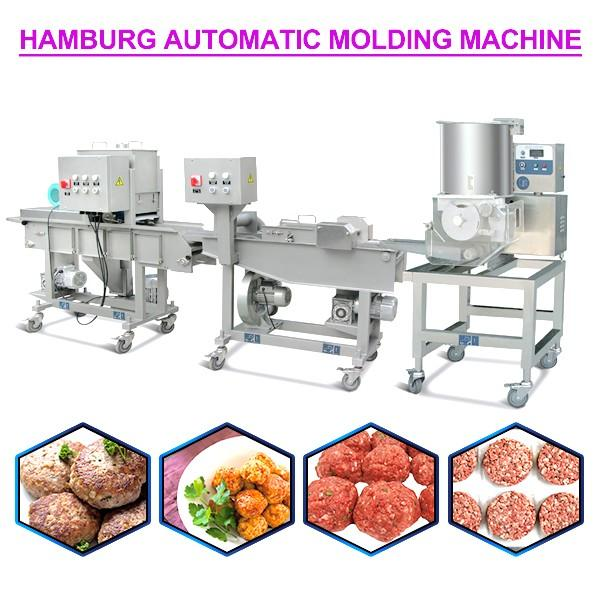 220v High Capacity Automatic Hamburger Forming Machine With Touch Screen #1 image