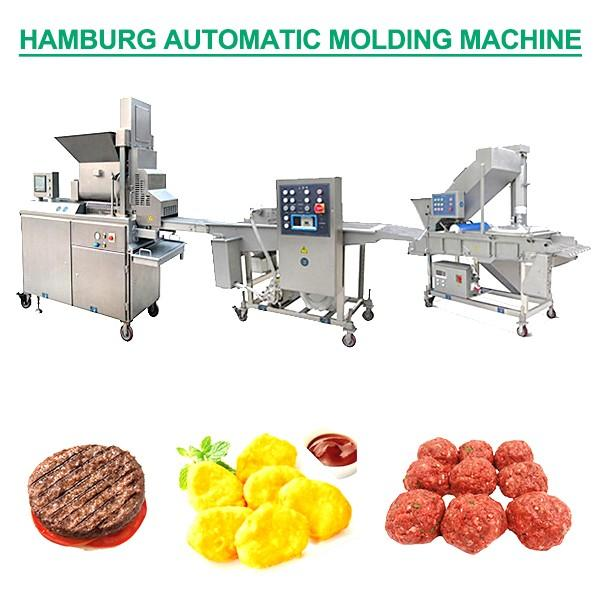 ISO Certification Sus304 Automatic Hamburger Forming Machine,Easy To Repair #1 image