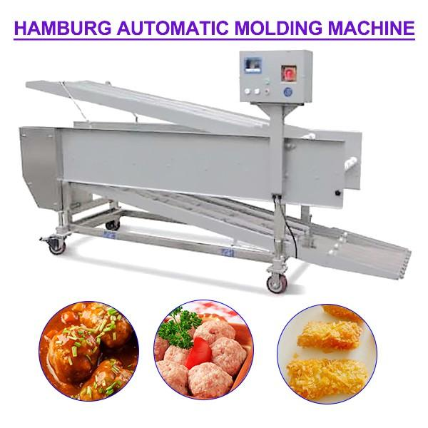 Fast 304 Stainless Steel Automatic Hamburger Forming Machine For Minced Products #1 image