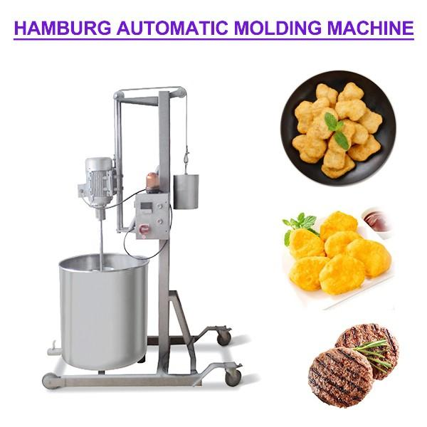 Haccp Compliant Safe Automatic Hamburger Forming Machine,Stable Quality #1 image