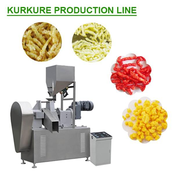 Ce Certification Multifunction Kurkure Making Machine With Corn Starch As Raw Materials #1 image
