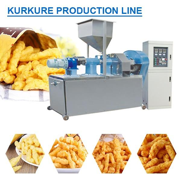 Full Automatic Stainless Steel Food Grade Kurkure Making Machine,Kurkure Production Line #1 image