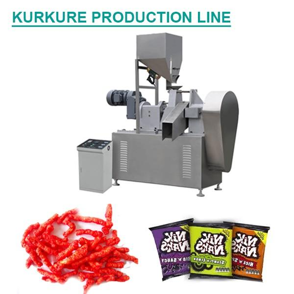 Plc System High Efficiency Kurkure Making Machine,Automatic Eco-friendly #1 image