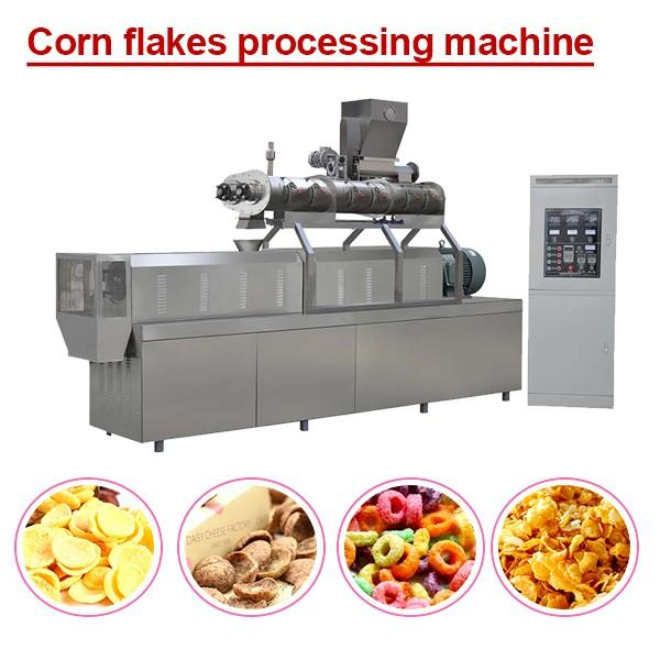 High Efficiency Low Consumption Corn Flake Machine,Corn Flakes Production Line #1 image