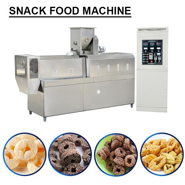 High Efficiency Snack Maker Machine With Cereals As Raw Materials,Noiseless Running #1 image