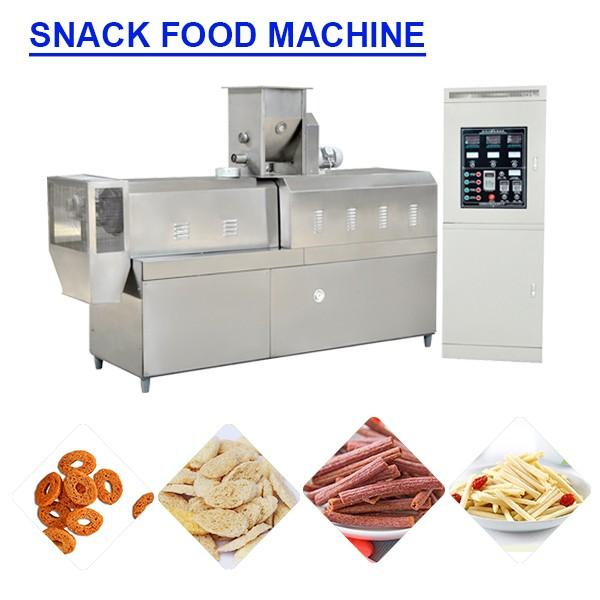 Full Automatic Multifunction Snack Maker Machine For Snack Food #1 image