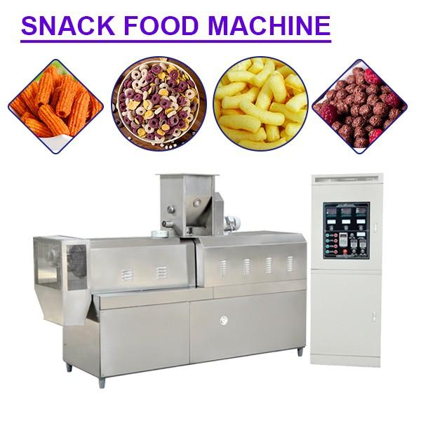 CE Certification High Capacity Snack Maker Machine,Long Lifetime #1 image