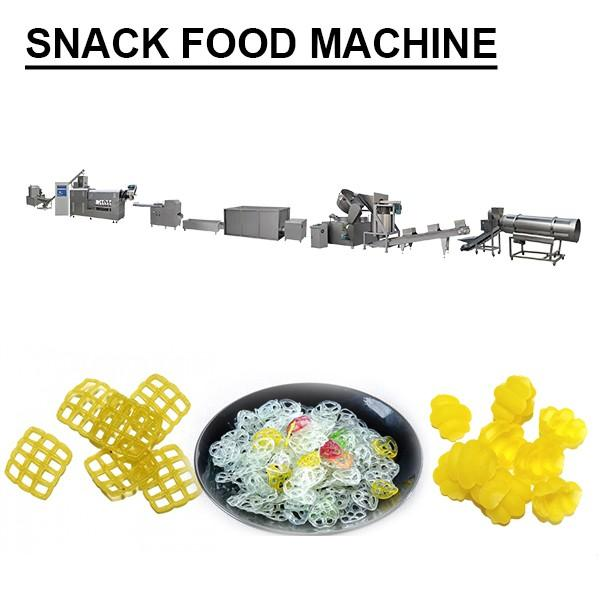 100-300kg/h Plc System Snack Maker Machine,Snacks Production Machines #1 image